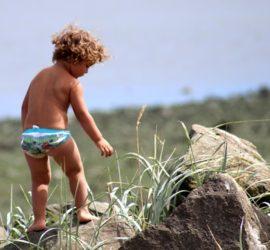 abbronzatura dei bambini