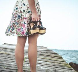tacchi bassi per gambe pesanti